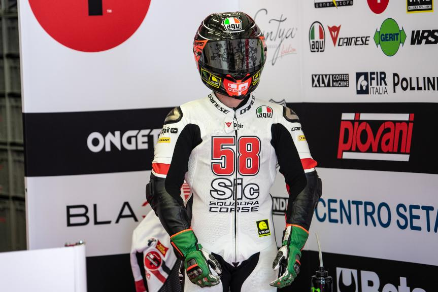 Niccolo Antonelli, SIC58 Squadra Corse, Jerez Moto2™-Moto3™ Test