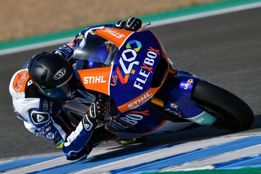 Augusto Fernandez, Flex-Box HP40, Jerez Moto2™-Moto3™ Test