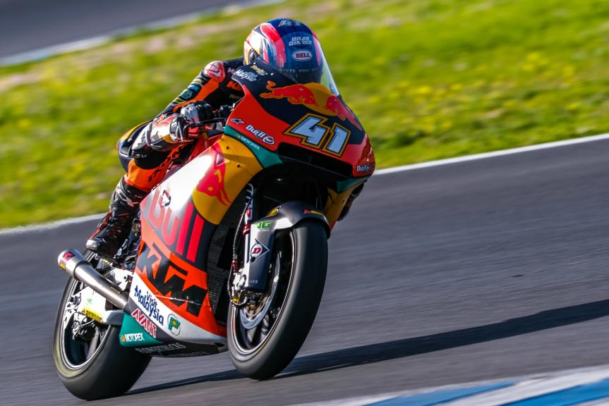 Brad Binder, Red Bull KTM Ajo, Jerez Moto2™-Moto3™ Test