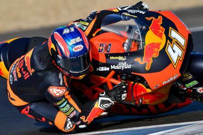 Binder, Lowes y Lecuona analizan su 'podio' en Jerez