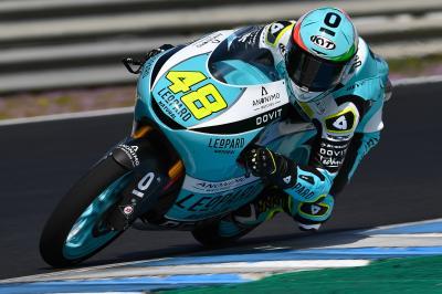 Starker Auftritt von Dalla Porta beim Moto3™ Test in Jerez