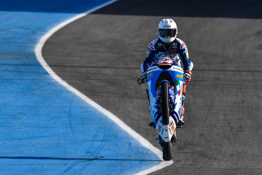 Riccardo Rossi, Kőmmerling Gresini Moto3, Jerez Moto2™-Moto3™ Test