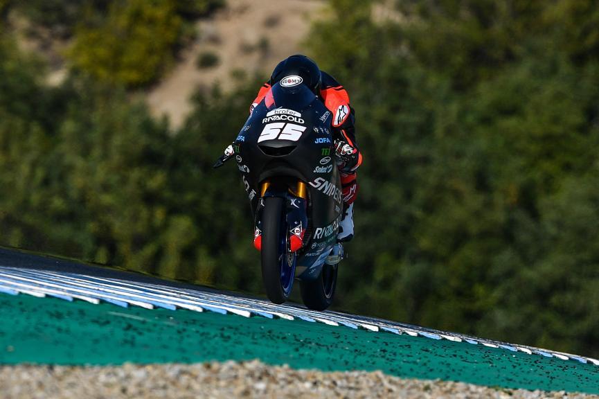Romano Fenati, Snipers Team, Jerez Moto2™-Moto3™ Test