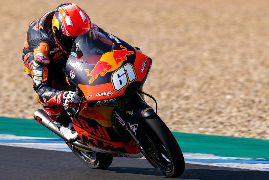 Can Oncu, Red Bull Ktm Ajo, Jerez Moto2™-Moto3™ Test