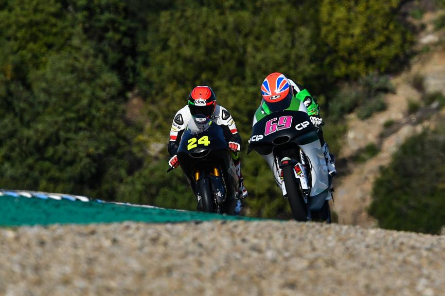 Tom Booth-Amos, CIP Green Power, Jerez Moto2™-Moto3™ Test