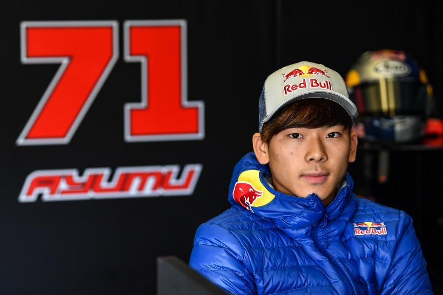 Ayumu Sasaki, Petronas Sprinta Racing, Jerez Moto2™-Moto3™ Test
