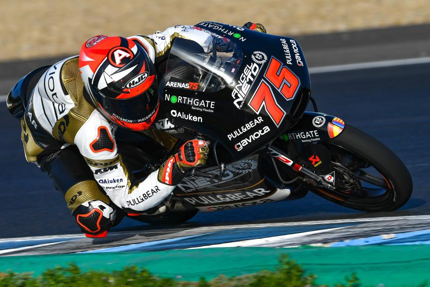 Albert Arenas, Angel Nieto Team, Jerez Moto2™-Moto3™ Test