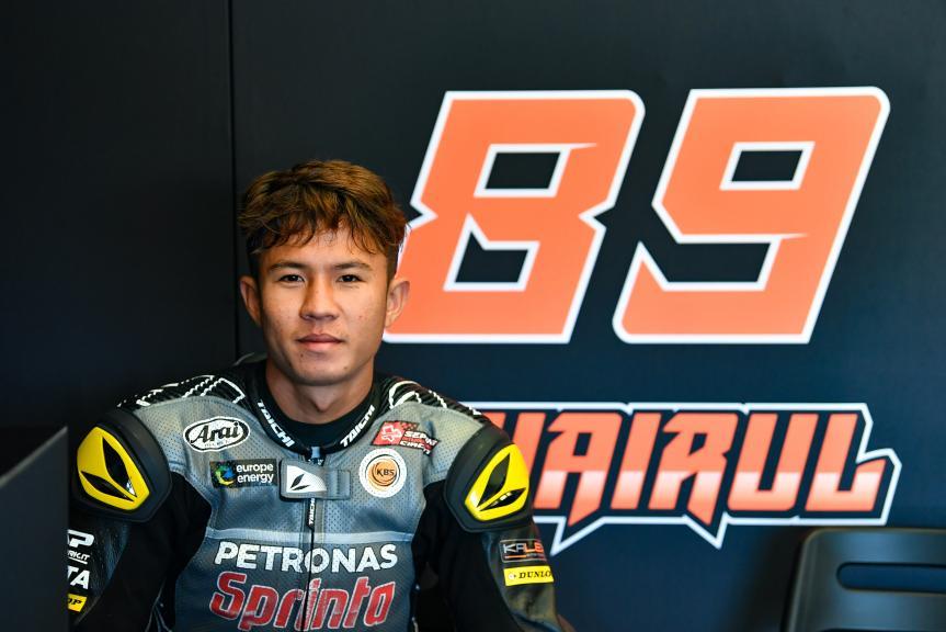 Khairul Idham Pawi, Petronas Sprinta Racing, Jerez Moto2™-Moto3™ Test