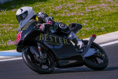 Test Moto3™ de Jerez: Masia se hisse en tête, mais se blesse