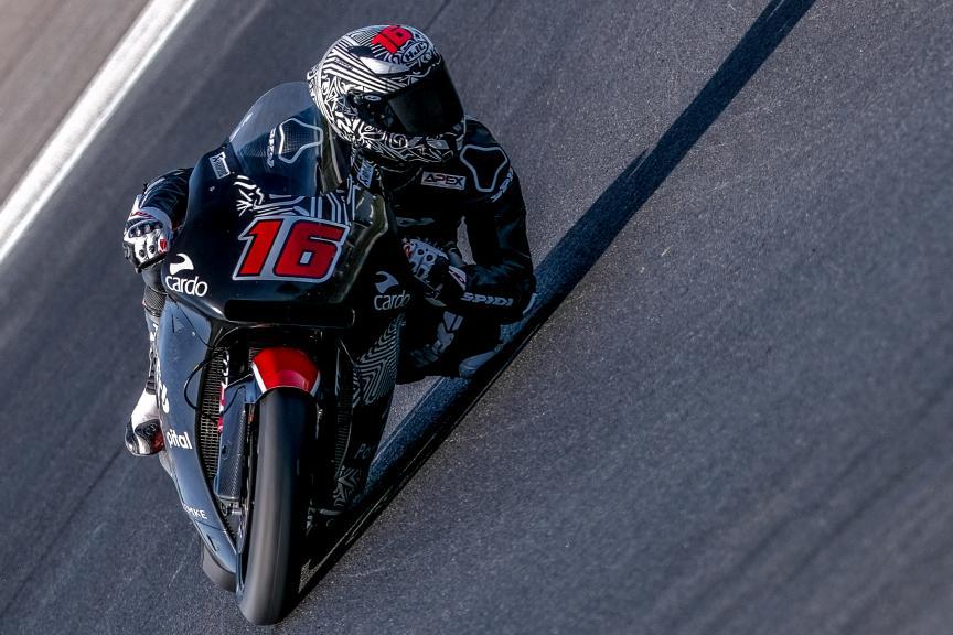 Joe Roberts, American Racing KTM, Jerez Moto2™-Moto3™ Test