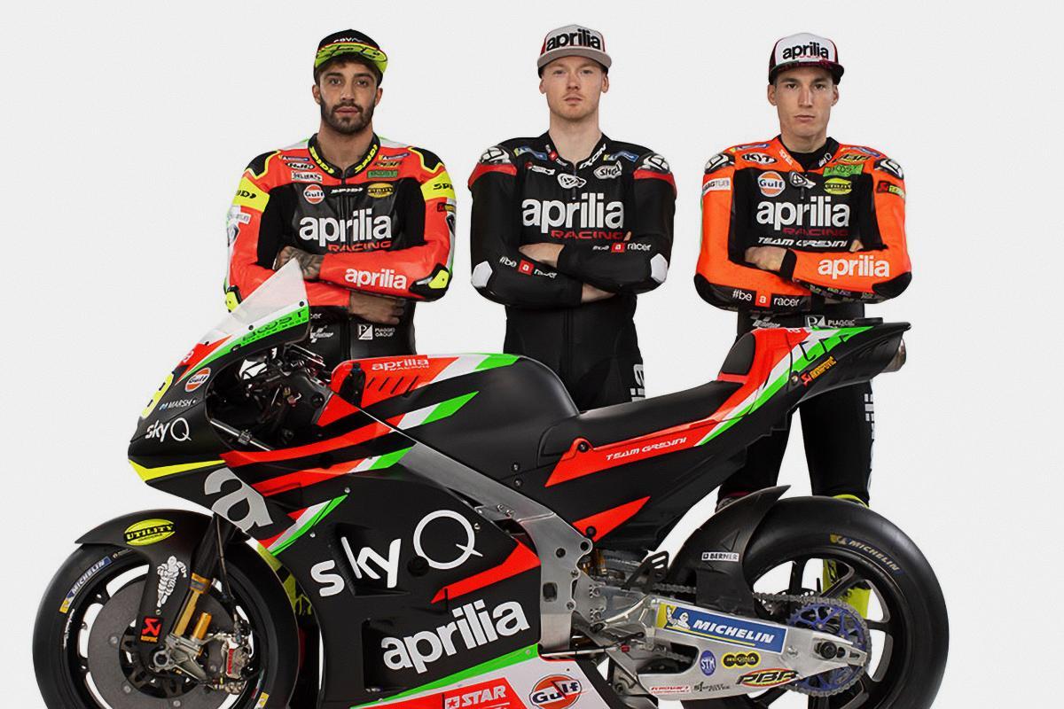 Aprilia: the 2019 MotoGP™ challenge has begun | MotoGP™