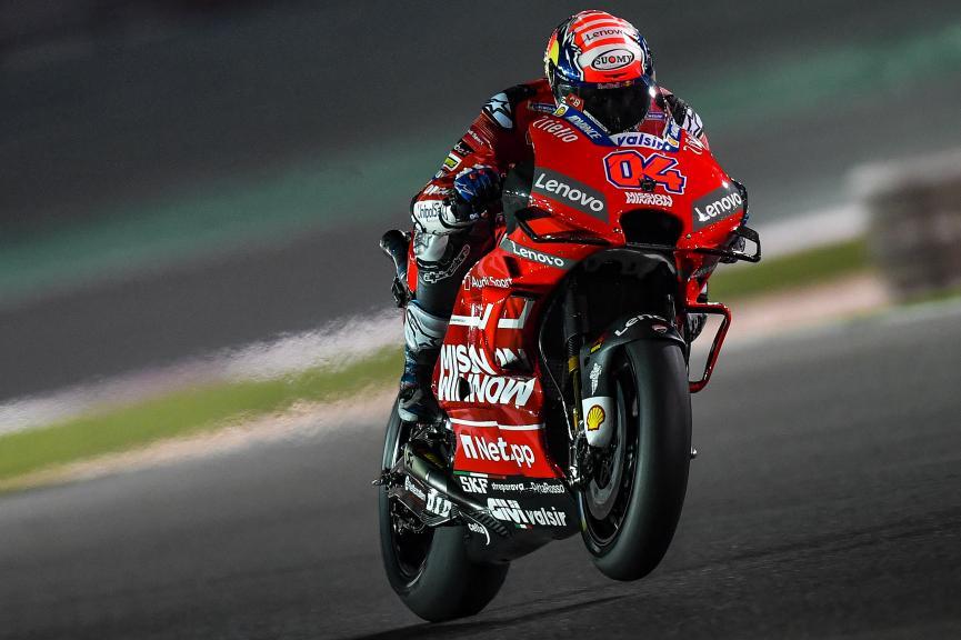Andrea Dovizioso, Mission Winnow Ducati, Moto2, Qatar MotoGP™ Test