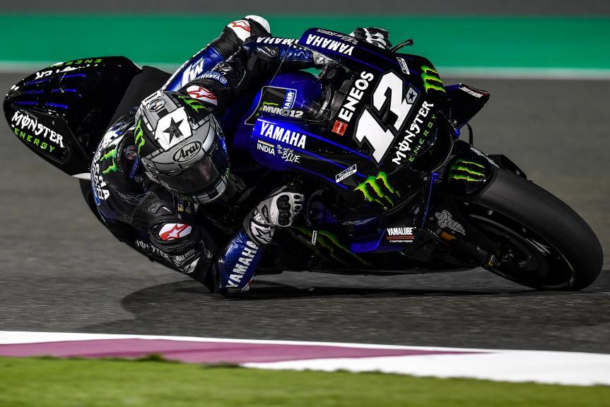 Maverick Vinales, Monster Energy Yamaha MotoGP, Moto2, Qatar MotoGP™ Test