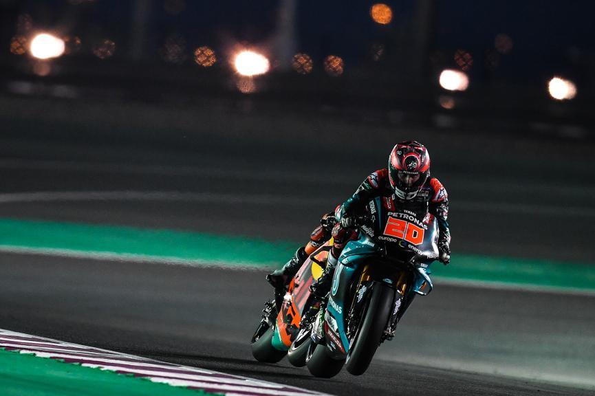 Fabio Quartararo, Petronas Yamaha SRT, Moto2, Qatar MotoGP™ Test