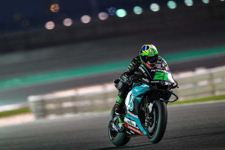Franco Morbidelli, Petronas Yamaha SRT, Moto2, Qatar MotoGP™ Test