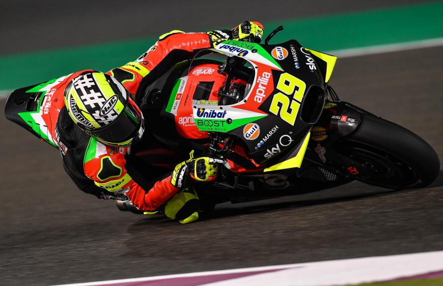 Andrea Iannone, Aprilia Racing Team Gresini, Moto2, Qatar MotoGP™ Test