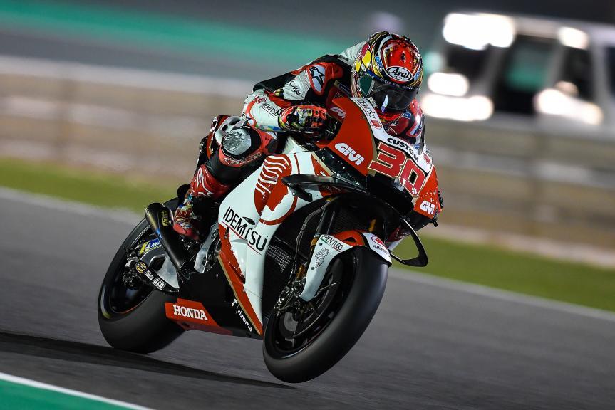 Takaaki Nakagami, LCR Honda Idemitsu, Moto2, Qatar MotoGP™ Test