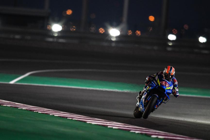 Alex Rins, Team Suzuki Ecstar, Moto2, Qatar MotoGP™ Test
