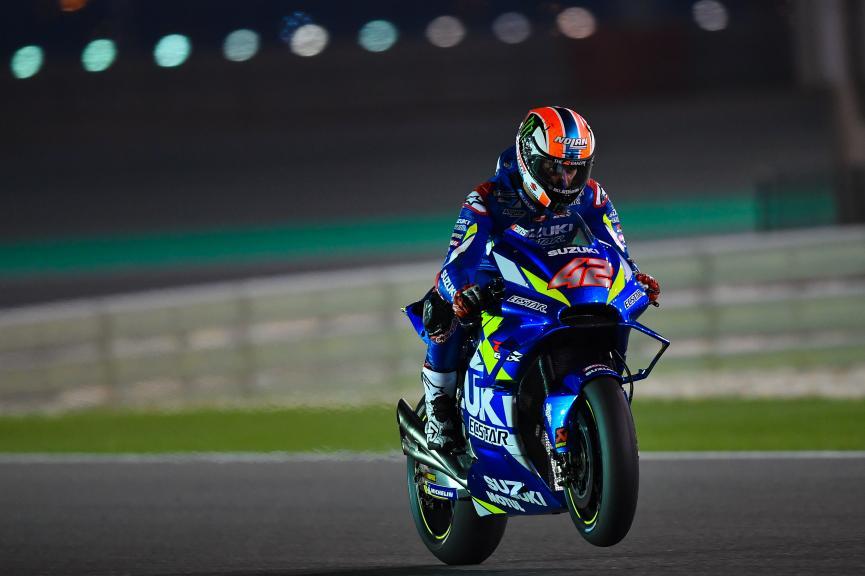Alex Rins, Team Suzuki Ecstar, Qatar MotoGP™ Test