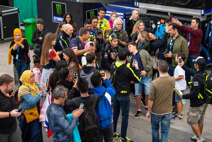 Valentino Rossi, Monster Energy Yamaha MotoGP, Moto2, Qatar MotoGP™ Test