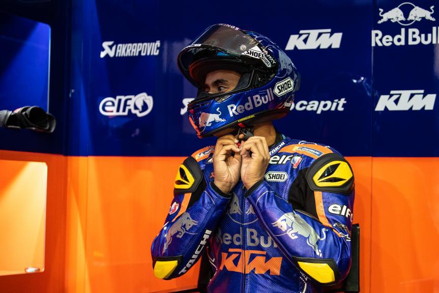 Hafizh Syahrin, Red Bull Ktm Tech 3, Moto2, Qatar MotoGP™ Test