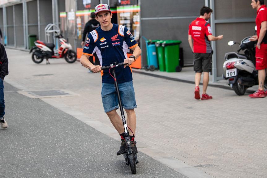 Marc Marquez, Repsol Honda Team, Moto2, Qatar MotoGP™ Test