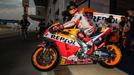 Take a look at the first track action of the final test of the pre-season at the Losail International Circuit