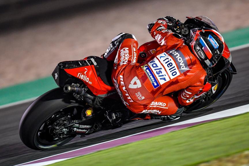 Danilo Petrucci, Mission Winnow Ducati, Qatar MotoGP™ Test