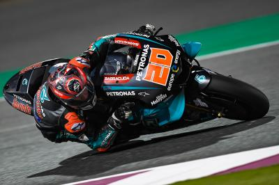 "Quartararo: ""We made a big step on the time attack"""