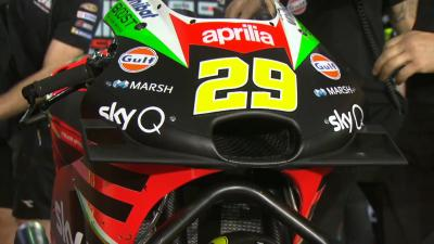 All change with Iannone, Espargaro and Aprilia at Losail