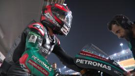 Rins and Vi?ales lead day two ahead of MotoGP? rookie Fabio Quartararo in day filled with innovations