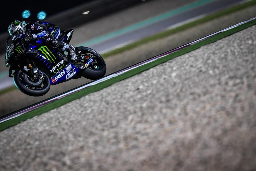Maverick Vinales, Monster Energy Yamaha MotoGP, Qatar MotoGP™ Test