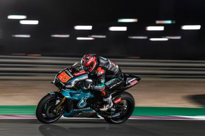 Fast Fabio surprises at the Qatar Test