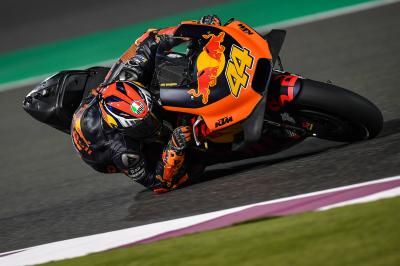 "Espargaro ""impressed with the potential"" after Qatar Test"