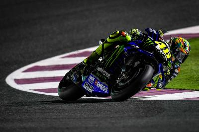 "Rossi: ""Today was a good day"""