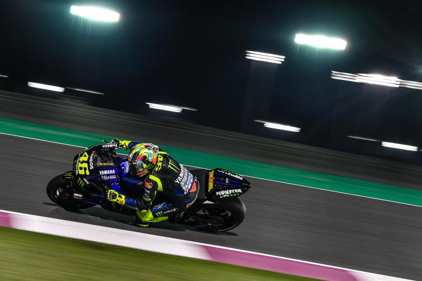 Valentino Rossi, Monster Energy Yamaha MotoGP, Qatar MotoGP™ Test