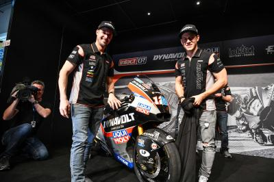 Dynavolt Intact GP launch 2019 team