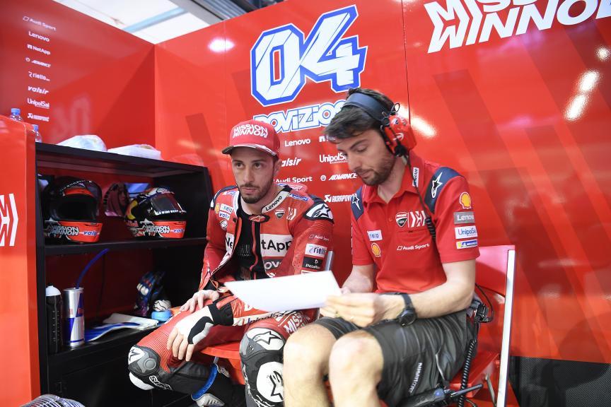 Andrea Dovizioso, Mission Winnow Ducati, Qatar MotoGP™ Test