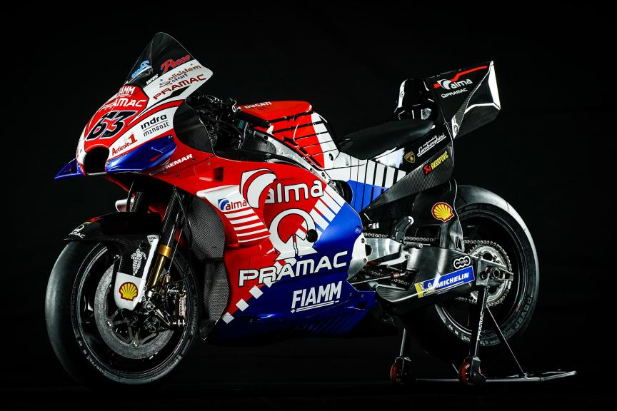 Francesco Bagnaia, Alma Pramac Racing 2019 launch