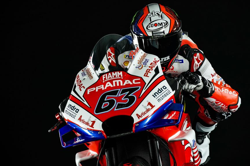 Francesco Bagnaia, Alma Pramac Racing 2019 launch