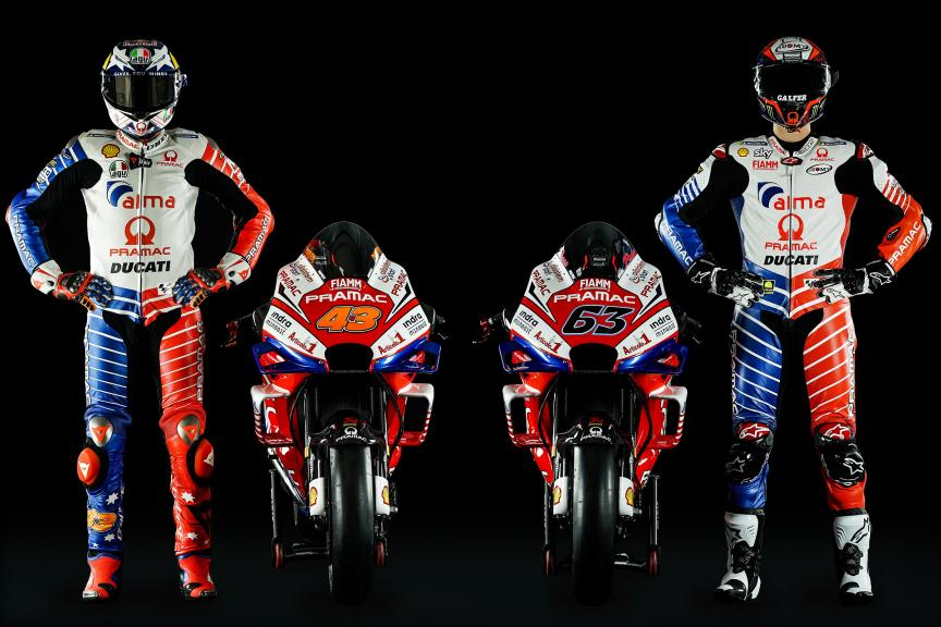 Jack Miller, Francesco Bagnaia, Alma Pramac Racing 2019 launch