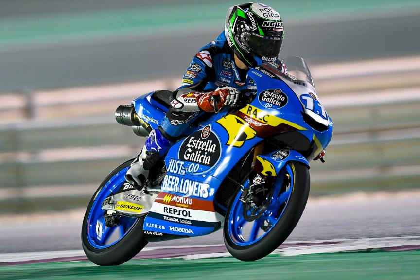 Sergio Garcia, Estrella Galicia 0,0, Qatar Moto2™-Moto3™ Test