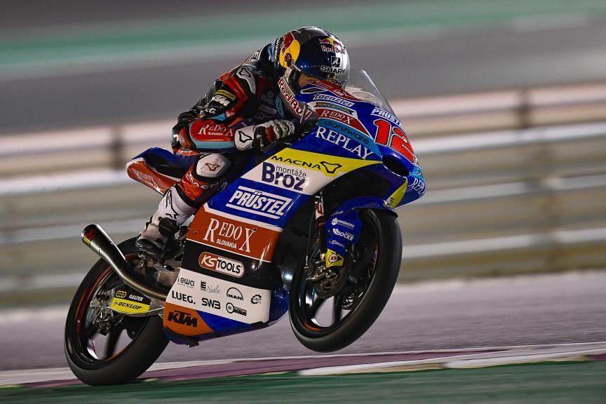 Filip Salac, Redox PruestlGP, Qatar Moto2™-Moto3™ Test