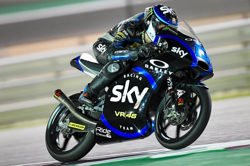 Celestino Vietti, Sky Racing Team VR46, Qatar Moto2™-Moto3™ Test