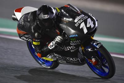 Arbolino fastest from Fenati on Friday at the Qatar Test