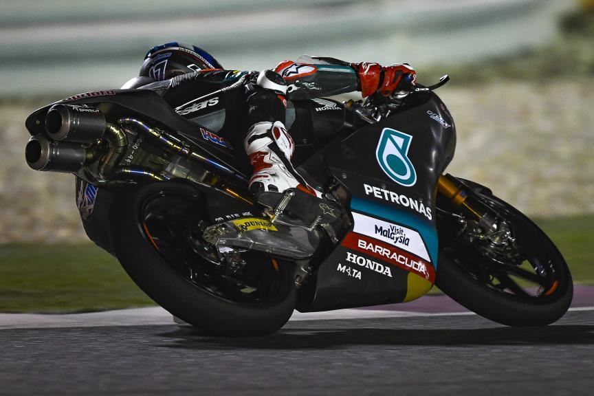 John McPhee, Petronas Sprinta Racing, Qatar Moto2™-Moto3™ Test