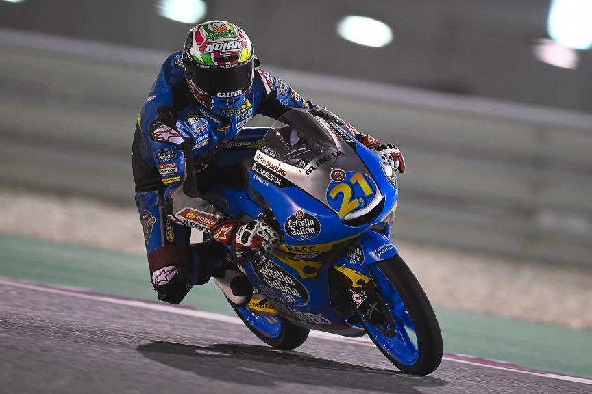 Alonso Lopez, Estrella Galicia 0,0, Qatar Moto2™-Moto3™ Test
