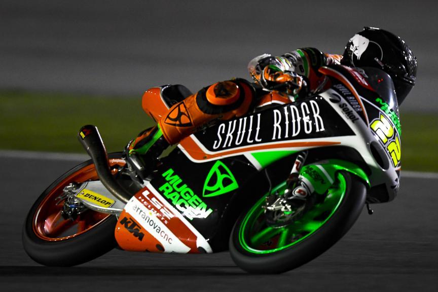 Kazuki Masaki, Boe Skull Rider Mugen Race, Qatar Moto2™-Moto3™ Test
