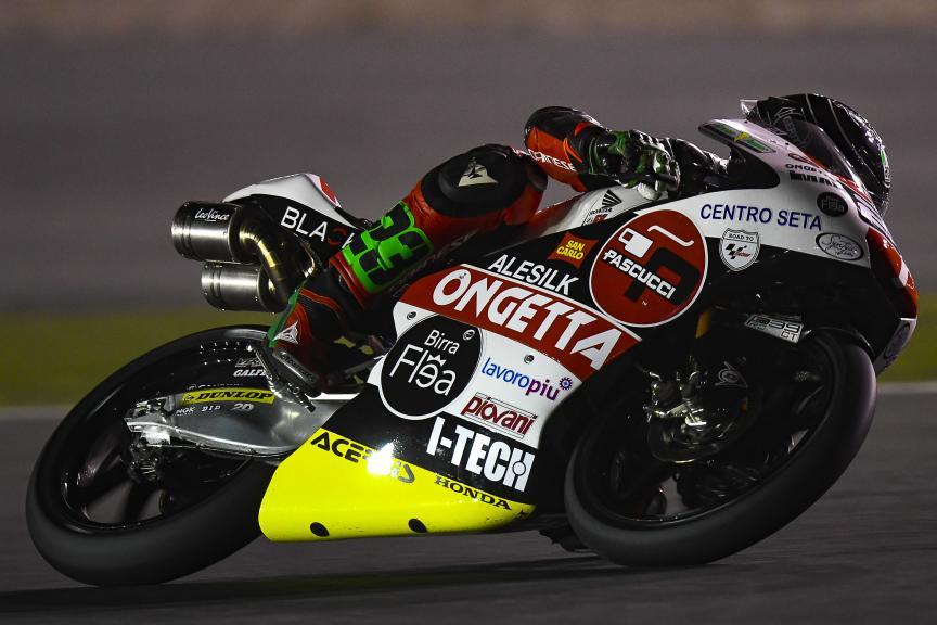 Niccolo Antonelli, SIC58 Squadra Corse, Qatar Moto2™-Moto3™ Test