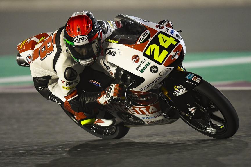 Tatsuki Suzuki, SIC58 Squadra Corse, Qatar Moto2™-Moto3™ Test